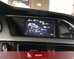Audi A4 stacja na systemie Android