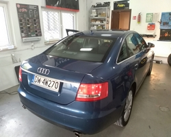 Audi A6 C6 montaż USB i streaming audio