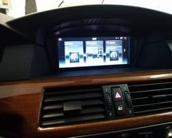 BMW M5 stacja na systemie Android