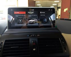BMW X3 E83 stacja na systemie Android