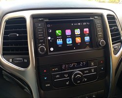 Jeep Grand Cherokee nowa stacja z systemem Android