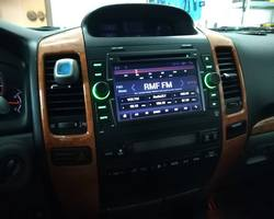 Lexus GX470 stacja na systemie Android