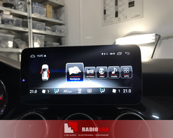Mercedes CLA stacja na systemie Android