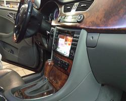 Mercedes CLS stacja na systemie Android