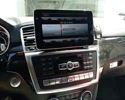 Mercedes GL 63 AMG X166 2015 stacja na systemie Android
