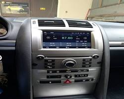 Peugeot 407 stacja na systemie Android