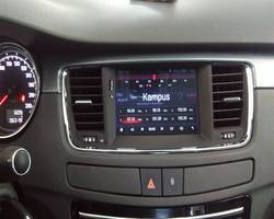 Peugeot 508 stacja na systemie Android