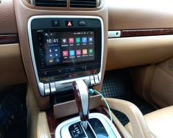 Porsche Cayenne stacja na systemie Android