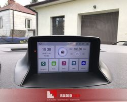 Renault Megane 3 stacja na systemie Android