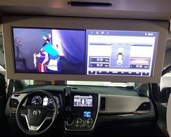 Toyota Sienna stacja na systemie Android