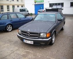Mercedes 126 coupe